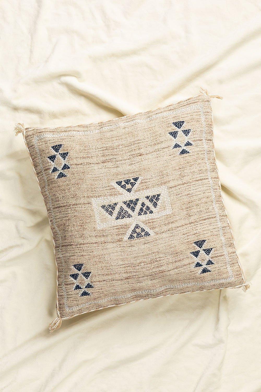 Otok Square Cotton Cushion (50x50 cm) , gallery image 1