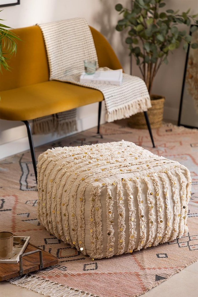 Square Gorup Cotton Puff, gallery image 1