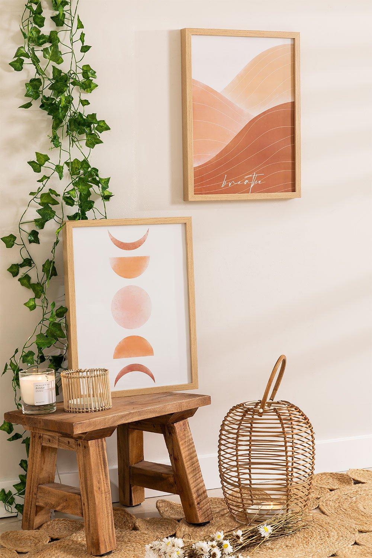 Set of 2 Decorative Sheets (30x40 cm) Estel, gallery image 1