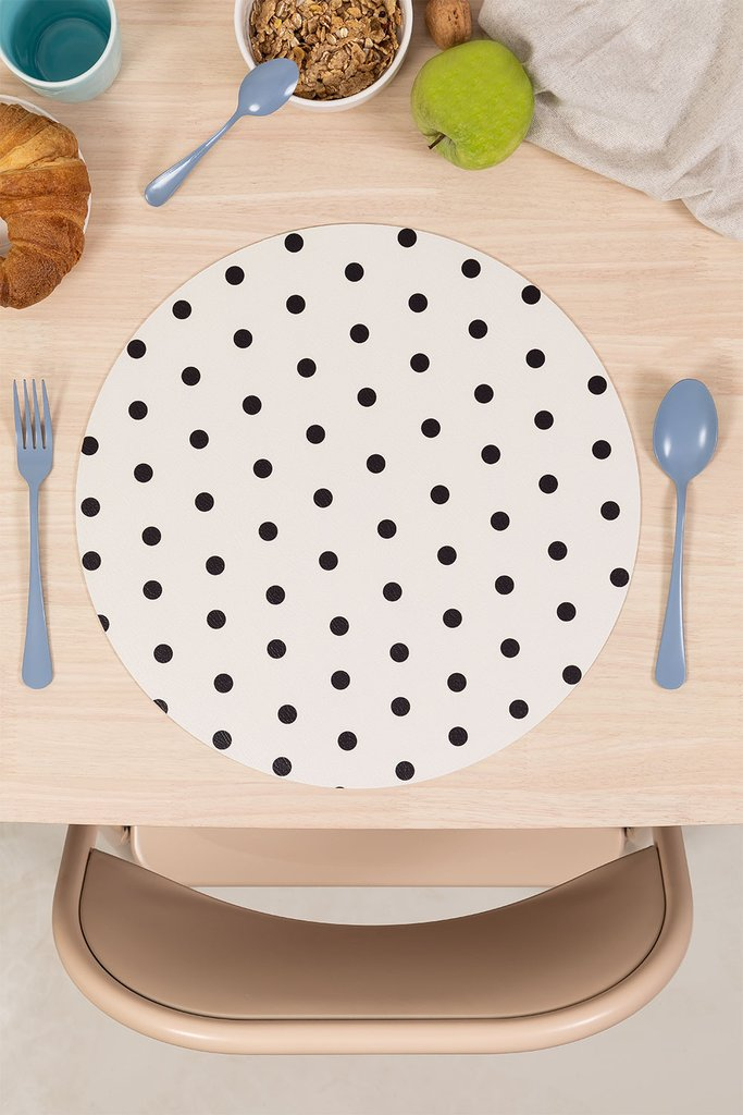 Round Vinyl Tablecloth Tops, gallery image 1