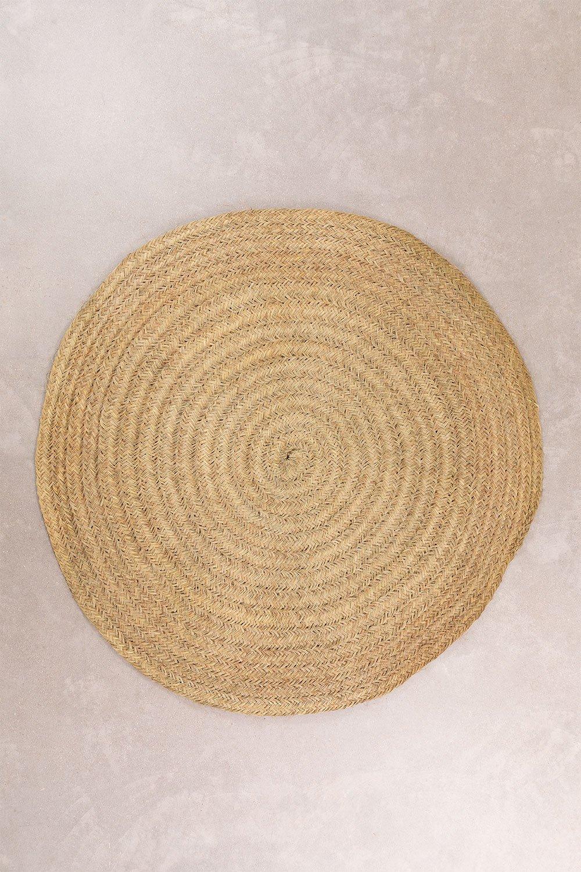 Round Esparto Carpet (Ø200 cm) Pow, gallery image 1