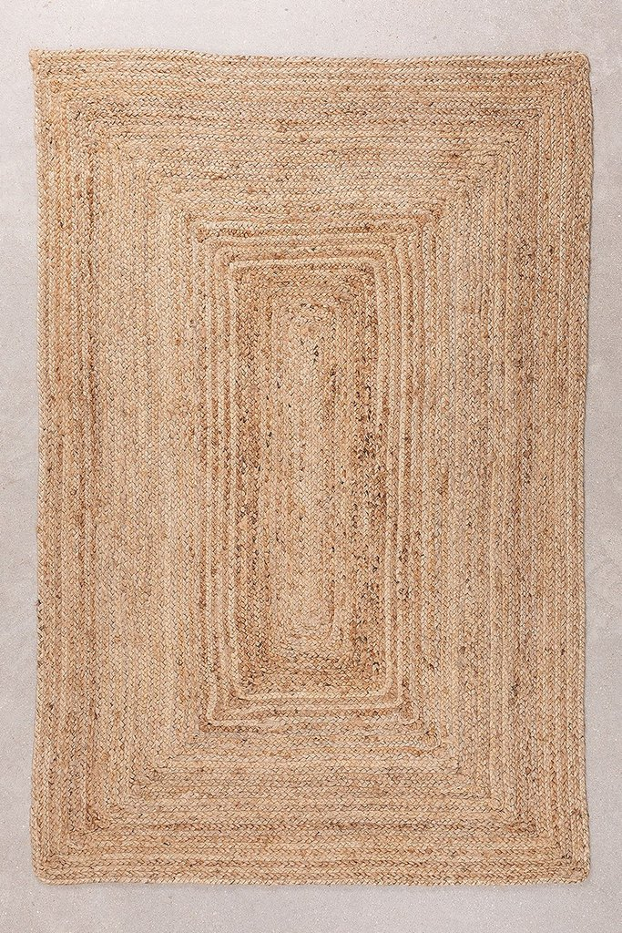 Yute Braided Rug Natural Tempo, gallery image 1