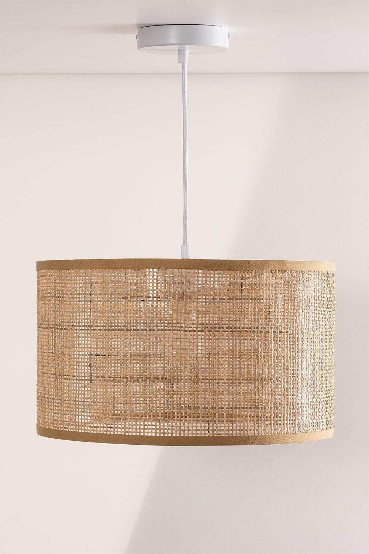 Ceiling Lamp in Rattan Ytse, gallery image 1