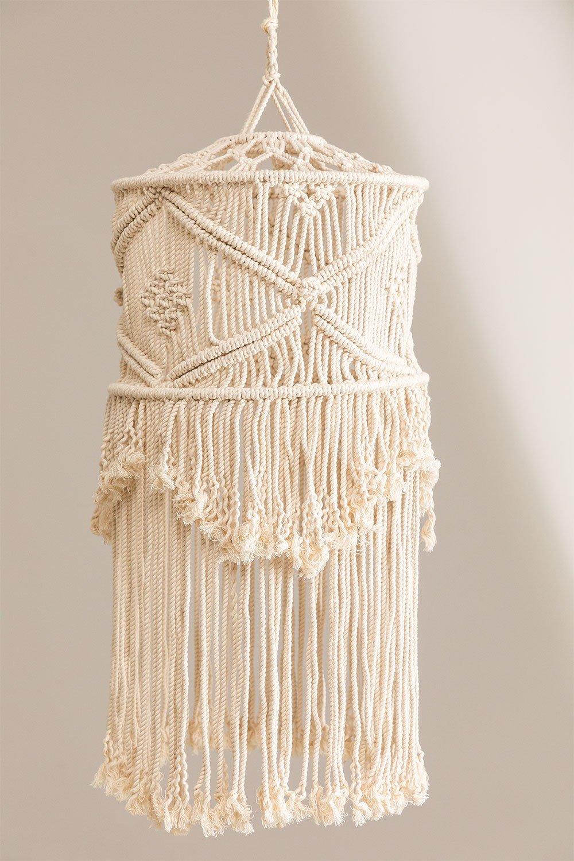 Teala Macrame Lamp Shade, gallery image 1
