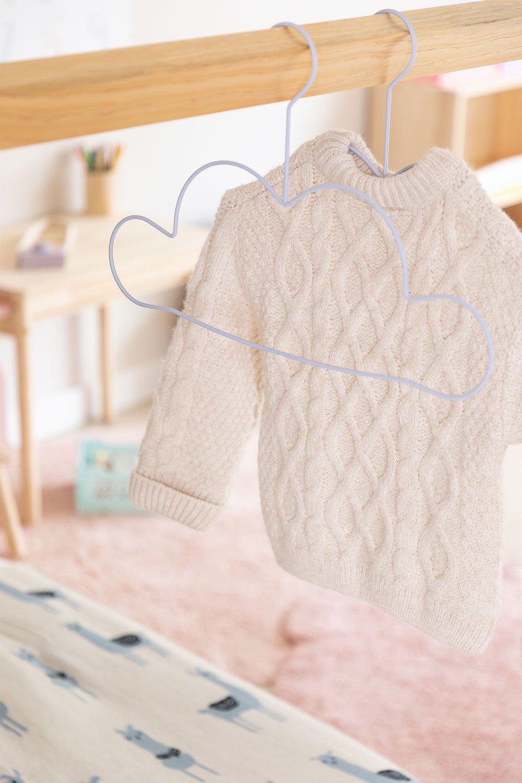 Set of 2 Nubi Kids Hangers, gallery image 1