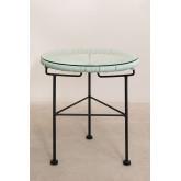 Set 2 sedie e 1 tavolo in polietilene e acciaio New Acapulco, immagine in miniatura 3