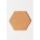 Confezione da 7 pannelli in sughero da parete Geom , immagine in miniatura 6