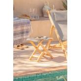 Sgabello in legno pieghevole Dalma Colors, immagine in miniatura 1
