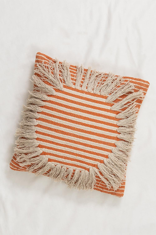 Cuscino Quadrato in Cotone (45x45 cm) Fiby, immagine della galleria 1