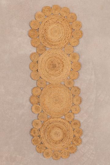 Tappeto in iuta naturale (180x60 cm) Otilie