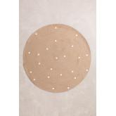 Tappeto rotondo in iuta naturale (Ø150 cm) Naroh, immagine in miniatura 1