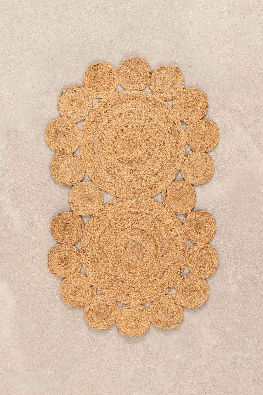 Zerbino in juta naturale (96x57 cm) Otilie, immagine della galleria 1