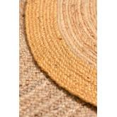 Tappeto rotondo in iuta naturale Dagna Colors, immagine in miniatura 3