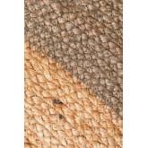 Tappeto rotondo in juta naturale Dagna Colors, immagine in miniatura 3