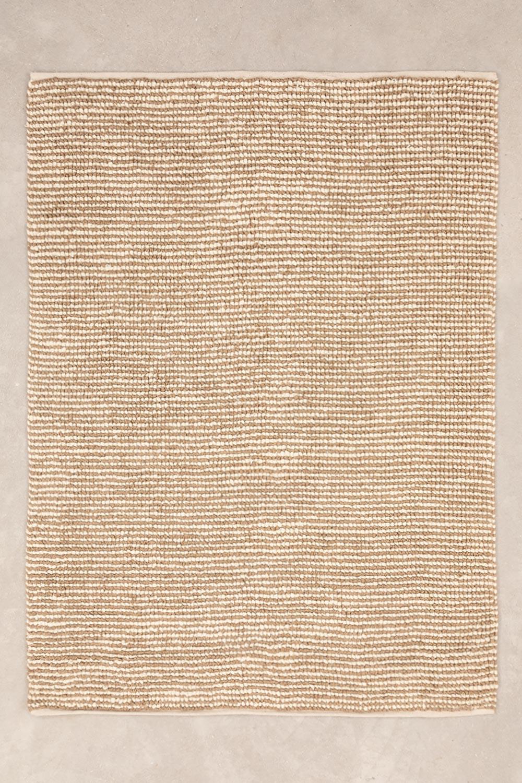 Tappeto di iuta e lana (230x165 cm) Prixet, immagine della galleria 1