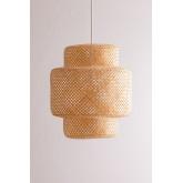 Lampada da soffitto in bambù (Ø45 cm) Lexie, immagine in miniatura 2