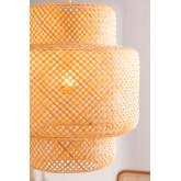 Lampada da soffitto in bambù (Ø45 cm) Lexie, immagine in miniatura 3