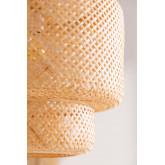 Lampada da soffitto in bambù (Ø45 cm) Lexie, immagine in miniatura 4