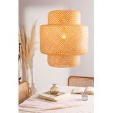 Lampada da soffitto in bambù (Ø45 cm) Lexie, immagine in miniatura 6