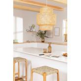 Lampada da soffitto in bambù (Ø45 cm) Lexie, immagine in miniatura 1