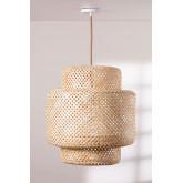 Lampada da soffitto in bambù (Ø45 cm) Lexie Natural, immagine in miniatura 1