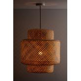 Lampada da soffitto in bambù (Ø45 cm) Lexie Natural, immagine in miniatura 2