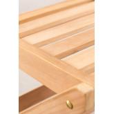 Sedia da giardino pieghevole in legno di teak Nicola, immagine in miniatura 5