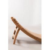 Lettino pieghevole Kedas in legno di teak, immagine in miniatura 3