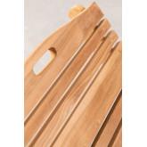 Lettino pieghevole Kedas in legno di teak, immagine in miniatura 5