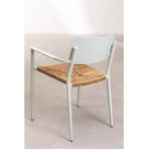 Pack 2 sedie da giardino in alluminio Amadeu, immagine in miniatura 5
