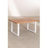 Tavolino da caffè in legno riciclato Sami, immagine in miniatura 2