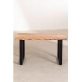 Tavolino da caffè in legno riciclato Sami, immagine in miniatura 3