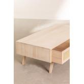 Tavolino da caffè in legno stile Ralik, immagine in miniatura 4