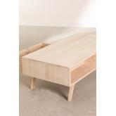 Tavolino da caffè in legno stile Ralik, immagine in miniatura 5