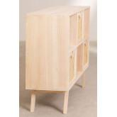 Mobile ingresso in legno con 3 cassetti Ralik Style, immagine in miniatura 3