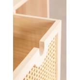 Mobile ingresso in legno con 3 cassetti Ralik Style, immagine in miniatura 5