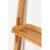 Scaffale in legno di quercia Idia, immagine in miniatura 4