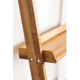 Scaffale in legno di quercia Idia, immagine in miniatura 5