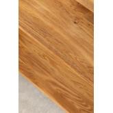 Scaffale in legno di quercia Idia, immagine in miniatura 6