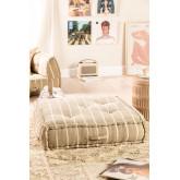 Cuscino per divano modulare in cotone Dhel Boho, immagine in miniatura 1