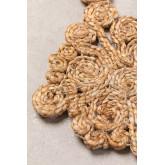 Tappeto in iuta naturale (Ø150 cm) Isham, immagine in miniatura 3