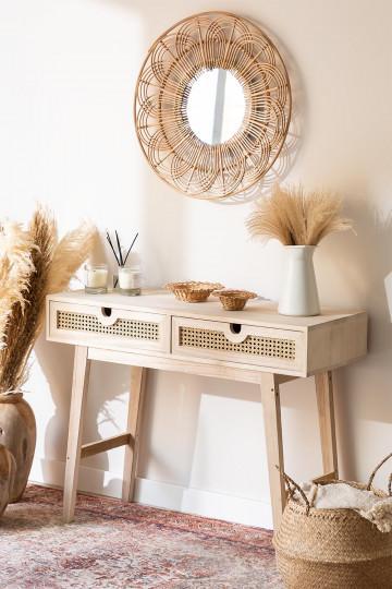 Sala in legno in stile Ralik