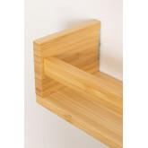 Mensola a muro in bambù Tanno, immagine in miniatura 5