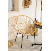 Sedia in rattan Baro, immagine in miniatura 1