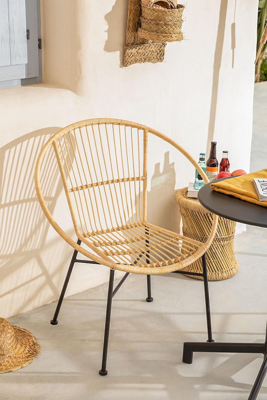 Sedia in rattan Baro, immagine della galleria 1