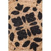 Tappeto rotondo in iuta naturale (Ø100 cm) Tricia, immagine in miniatura 3