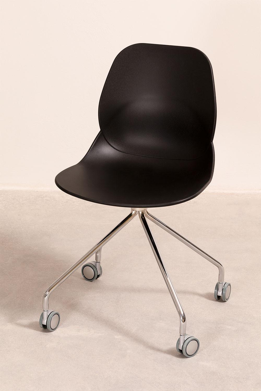 Sedia Ufficio con Ruote Tech, immagine della galleria 1