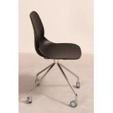 Sedia Ufficio con Ruote Tech, immagine in miniatura 2