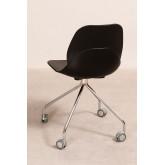 Sedia Ufficio con Ruote Tech, immagine in miniatura 3