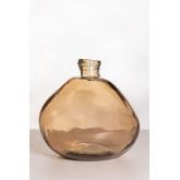 Vaso in vetro riciclato Damajuana 33 cm Jound, immagine in miniatura 1